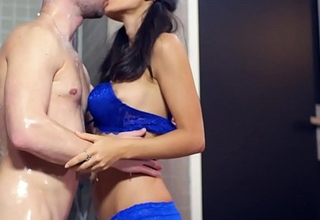 Shrima Malati can't live without more fuck in the shower relative to Jean-Marie Corda