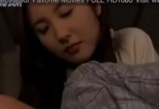 Japanese milf be crazy with father in posture