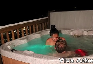 SLUTTY Oriental TEEN Deep throats OFF PHOTOGRAPHER There HOT TUB