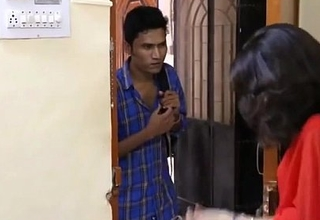 Indian Chick Getting Likeable With Salesman