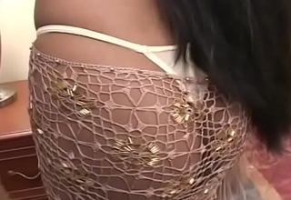 Indian bitch gets two big dicks