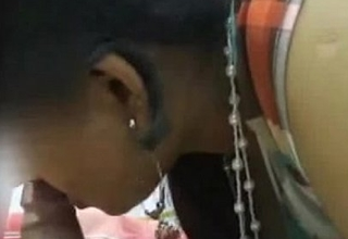 Indian Aunty bjowjob and making out with say no to Partner