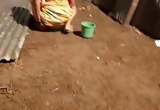 desi indian women jizz-swapping outside in open voyeur