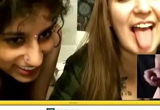 Snug Shlong Humiliation unconnected with Indian livecam girl pt. 2