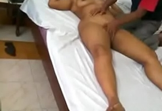 Indian massage parlour sex video real