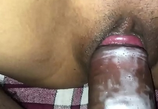 Indian Aunty sweet caitiff public schoolmate fucking her home