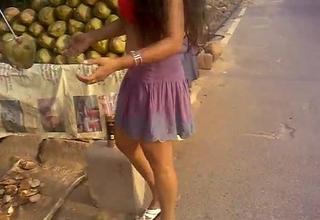 Sexy Indian Desi Tolerant Upskirt