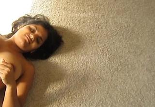 titillating legal age teenager indian slut swati gupta playing with self