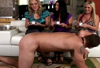 Cfnm femdom India Summer spoonful be advisable for cum