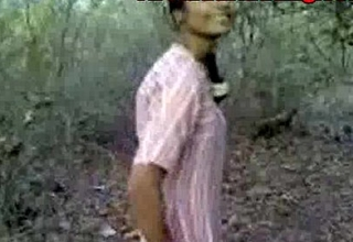 Indian amateur desi sexual intercourse in return forest